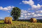 Photo ciel d'été dans le Sidobre Tarnais
