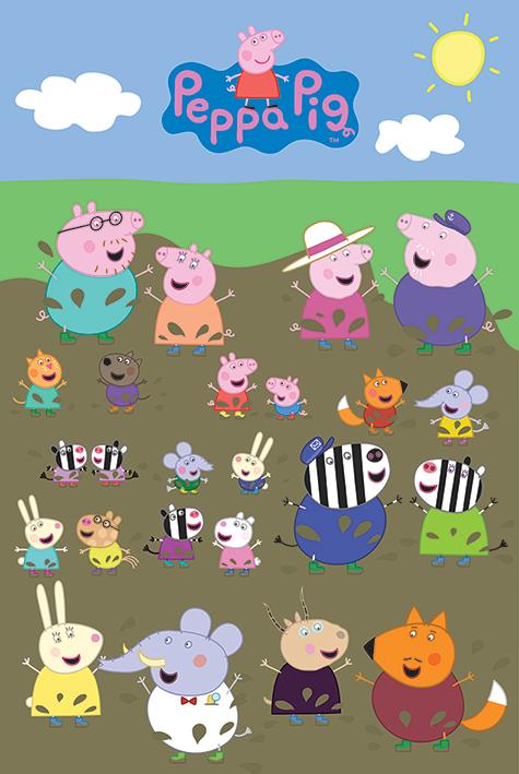 Poster Du Dessin Anime Peppa Pig Acheter Poster Du Dessin Anime Peppa Pig 47250 Affiches Et Posters Com