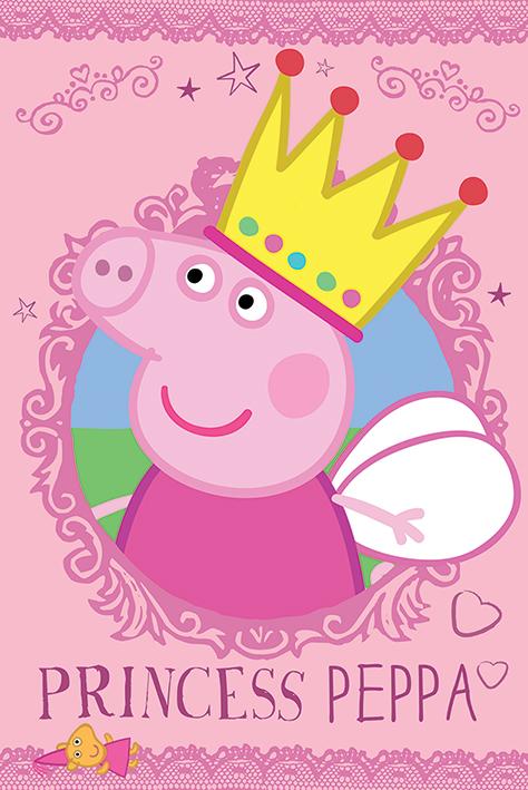 Affiche Du Dessin Animé Peppa Pig Acheter Affiche Du