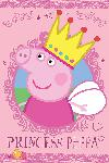 Affiche du dessin animé Peppa pig