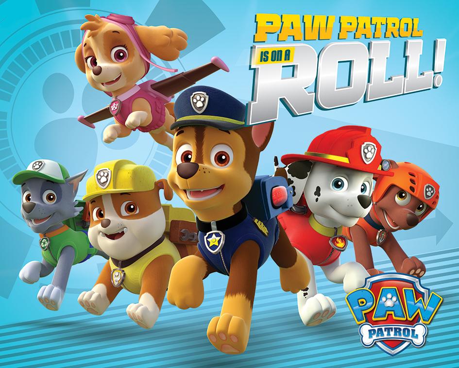 affiche du dessin anim paw patrol on a roll acheter affiche du dessin anim paw patrol on a roll 47278 affiches et posterscom - Pat Patrouille Dessin Anim