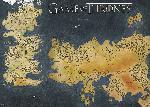 Affiche du film Game of Thrones (Westeros and Essos Antique Map)
