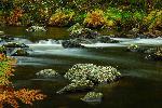 Photo de la rivière Agout en automne