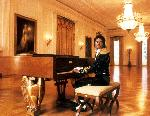 Poster photo Michael Jackson au Piano