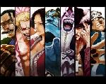 Affiche manga one piece personnage