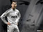 Affiche montage Cristiano Ronaldo Real Madrid