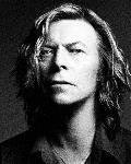 Poster photo noir et blanc David Bowie