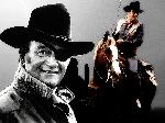 Photo montage de John Wayne