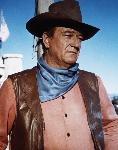 Photo couleur de John Wayne