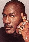 Photo portrait couleur Michael Jordan