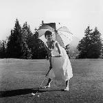 Poster d'Audrey Hepburn (golf)
