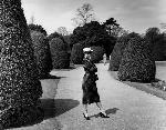 Affiche d'Audrey Hepburn (jardin)