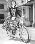 Photo d'Audrey Hepburn (bike)