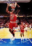 Affiche photo de Michael Jordan dunk