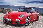 Poster photo 2010 Porsche 911 GT3 rouge