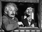 Photo noir et blanc Einstein