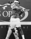 Poster photo noir et blanc Roger Federer