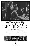 Affiche noir & blanc La Règle du jeu
