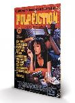 Impression sur bois du film Pulp Fiction Cover