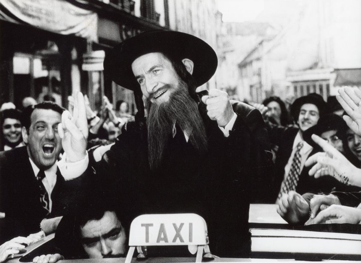 photo noir et blanc louis de fun s dans rabbi jacob acheter photo noir et blanc louis de fun s. Black Bedroom Furniture Sets. Home Design Ideas