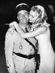 Photo noir et blanc Louis de Funès dans les Gendarmes A St Tropez