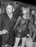 Photo noir et blanc Serge Gainsbourg