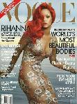 Poster photo Rihanna une de Vogue