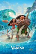 Poster film d'animation Vaiana la légende du bout du monde