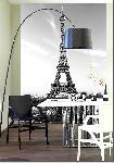 Tapisserie murale La Tour Eiffel (4 panneaux à coller)