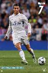 Affiche de foot Ronaldo Real Madrid