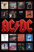 Posters des albums de Ac/dc