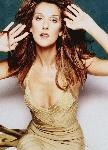 Poster Photo celine dion en couleur