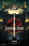 Affiche du film Jurassic Park 3D