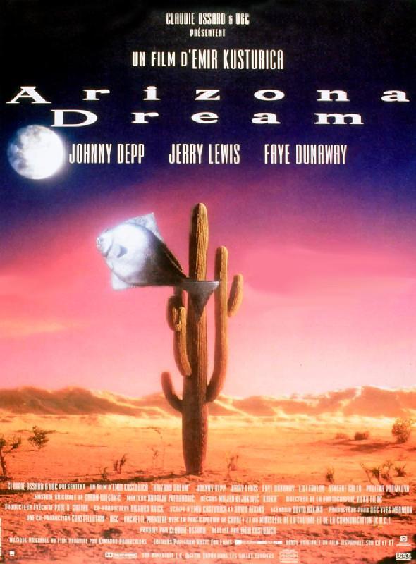 affiche du film arizona dream acheter affiche du film arizona dream 4904 affiches et. Black Bedroom Furniture Sets. Home Design Ideas