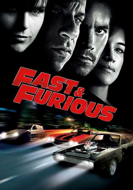 poster du film fast and furious 4 acheter poster du film fast and furious 4 4909 affiches. Black Bedroom Furniture Sets. Home Design Ideas