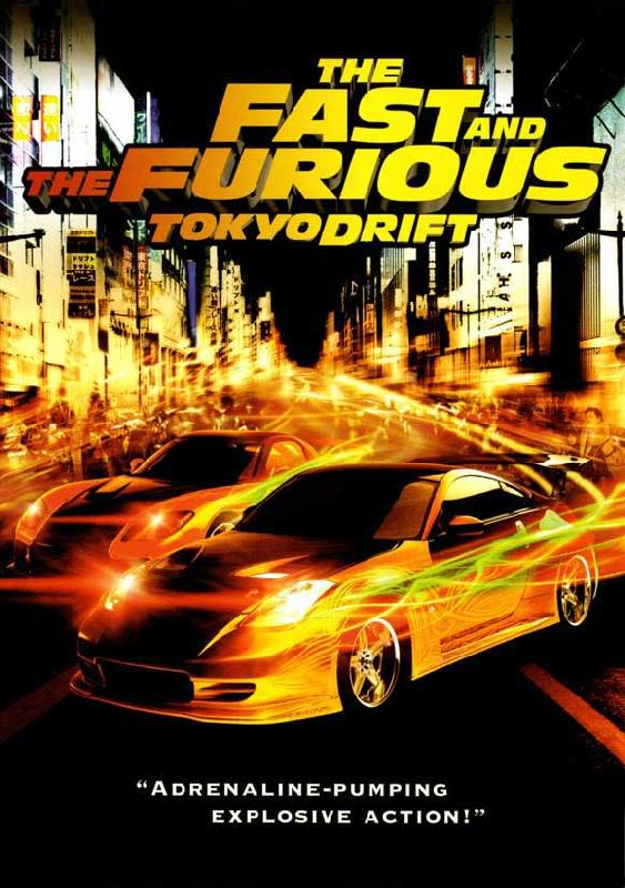 affiche du film fast furious tokyo drift acheter affiche du film fast furious tokyo. Black Bedroom Furniture Sets. Home Design Ideas