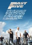 Poster du film Fast and Furious 5