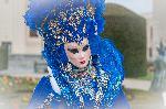 Donna in blu- carnaval