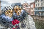 Pierrot et Colombina HDR - carnaval