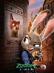 Affiche du film d'animation Zootopie