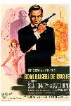 Affiche du film James Bond Bons baisers de Russie