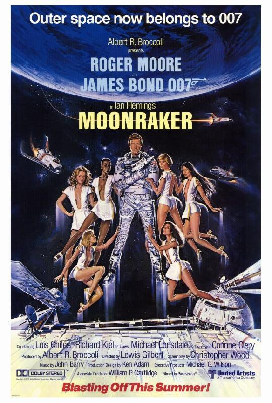 affiche film james bond moonraker acheter affiche film james bond moonraker 5042 affiches. Black Bedroom Furniture Sets. Home Design Ideas