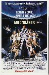 Affiche film James Bond Moonraker