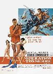 Affiche du film James Bond Opération Tonnerre