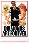 Affiche du film James Bond Les Diamants sont éternels
