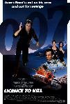 Affiche du film James Bond Permis de tuer