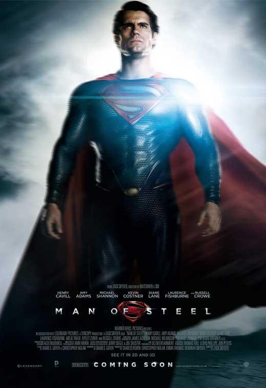 affiche de man of steel