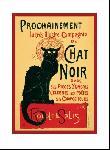 Affiche art print Le Chat Noir