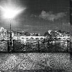 Toile imprimée Paris Le Pont des arts 2