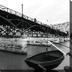 Toile imprimée Paris le Pont des arts